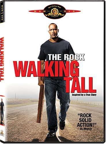Walking Tall (2004) Rock Knoxville Mcdonough DVD Pg13