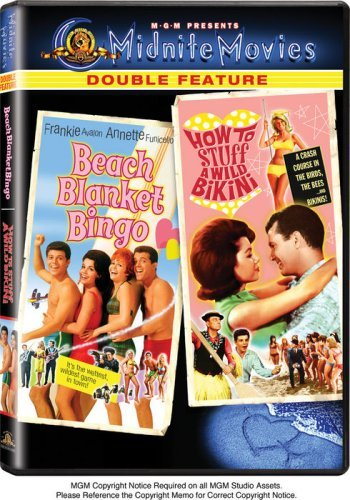 Beach Blanket Bingo How To Stu Mgm Double Feature Ws Nr 2 DVD
