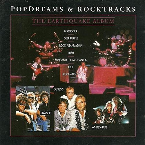 Pop Dreams & Rocktracks Earthquake Album