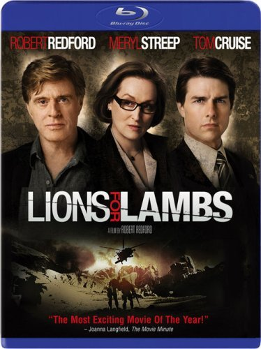Lions For Lambs Lions For Lambs Blu Ray Ws R