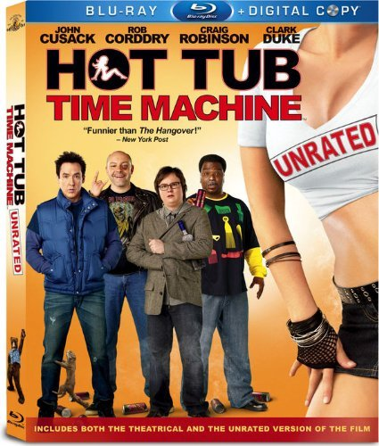 Hot Tub Time Machine Cusack Corddry Robinson Duke Blu Ray Ur Ws