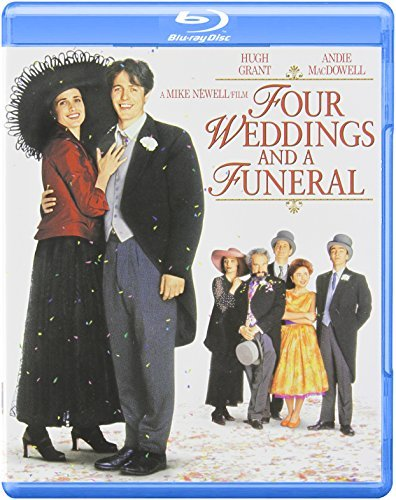 Four Weddings & A Funeral Grant Macdowell Callow Thomas Blu Ray Ws Grant Macdowell Callow Thomas