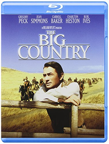 The [blu Ray] Big Country Peck Simmons Heston Blu Ray Ws Peck Simmons Heston