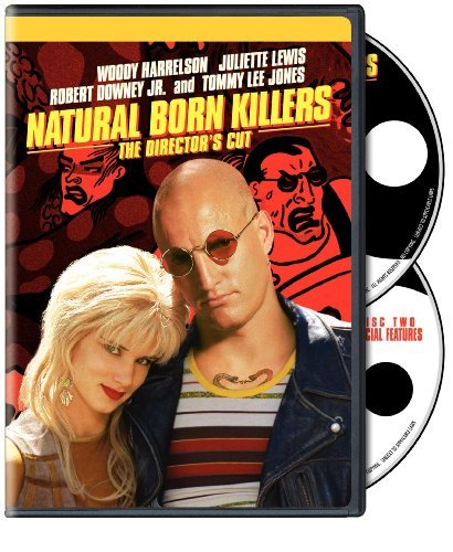 Natural Born Killers Harrelson Lewis Downey Jr. Jon DVD Directors Cut
