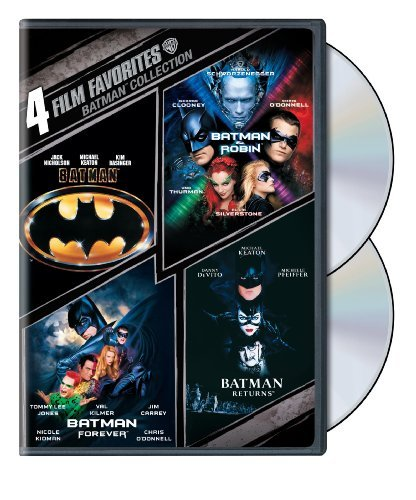 Batman Collection 4 Film Favorites Pg13 2 DVD