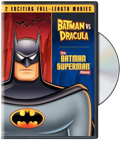 Batman Vs. Dracula Batman Vs. Superman Double Feature DVD Nr