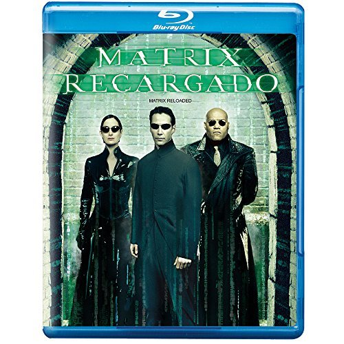 Matrix Reloaded Reeves Fishburne Moss Blu Ray Ws R