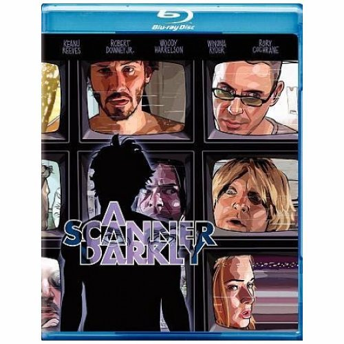 Scanner Darkly Reeves Ryder Downey Jr. Blu Ray Ws R