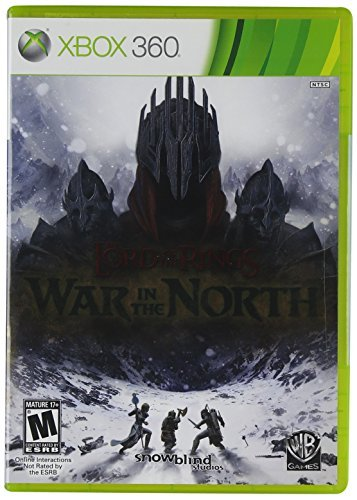 Xbox 360 Lord Of Rings War In The Nort Whv Games M