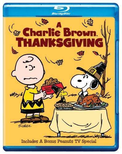 Peanuts Charlie Brown Thanksgiving Blu Ray Nr Ws