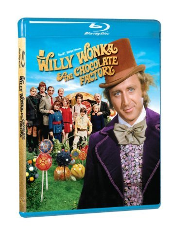 Willy Wonka & The Chocolate Factory Wilder Alberton Ostrum Blu Ray Ws G