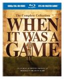 When It Was A Game Complete Collection Ws Blu Ray G
