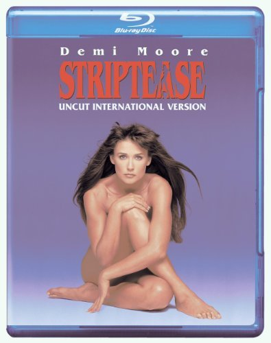 Striptease Moore Reynolds Rhames Blu Ray Ws Uncut Intl. Version Nr
