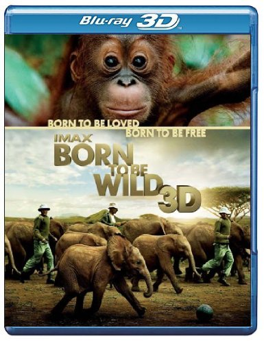 Born To Be Wild 3d Imax Blu Ray 3d Ws G Incl. DVD Dc Uv