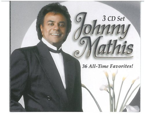 Johnny Mathis All Time Greatest Hits 3 CD Set