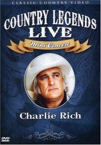 Charlie Rich Country Legends Live Mini Cone