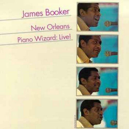 James Booker/New Orleans Piano Wizard Live