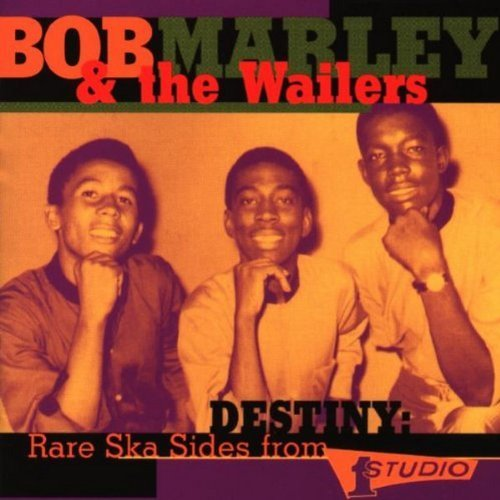 Bob & The Wailers Marley Destiny Rare Ska Sides From St