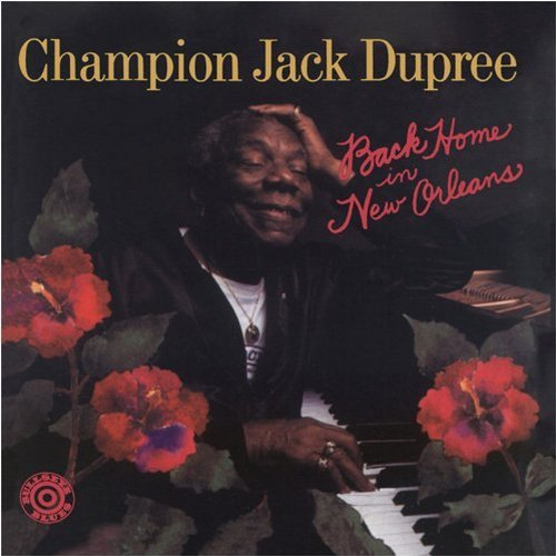 Champion Jack Dupree Back Home In New Orleans