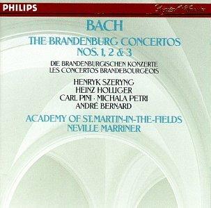 J.S. Bach/Brandenburg Con 1-3@Marriner/Asmf