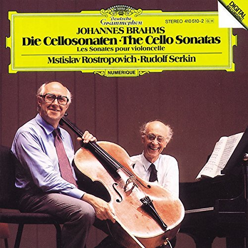 Johannes Brahms/Son Vc 1/2@Rostropovich (Vc)/Serkin (Pno