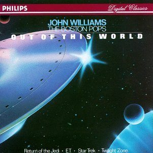 John Williams Pops Out Of This World Williams Boston Pops