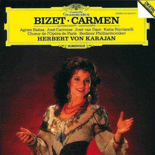 G. Bizet/Carmen-Hlts@Baltsa/Carreras/Van Dam@Karajan/Berlin Po