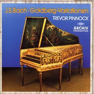 J.S. Bach Goldberg Variations Pinnock (hrpchrd)
