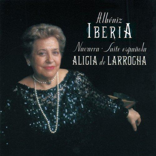 I. Albeniz/Iberia/Navarra/Ste Espagnole@De Larrocha*alicia (Pno)
