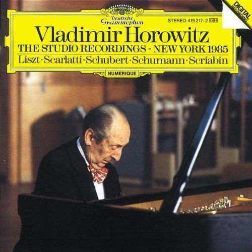 Vladimir Horowitz Studio Recordings 1985 Horowitz (pno)