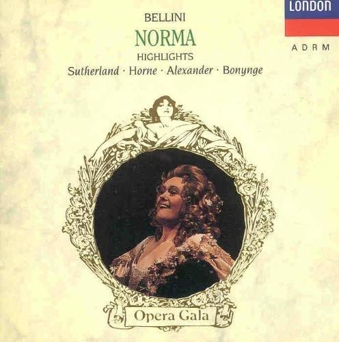 V. Bellini/Norma-Hlts@Sutherland/Horne/Alexander/+@Bonynge/London Sym Orch