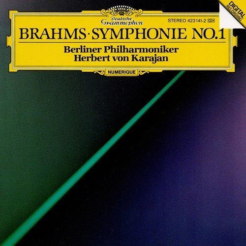 J. Brahms/Sym 1@Karajan/Berlin Po