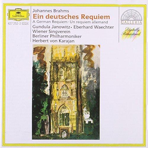J. Brahms/German Requiem@Janowitz/Waechter/Vienna Singv@Karajan/Berlin Po