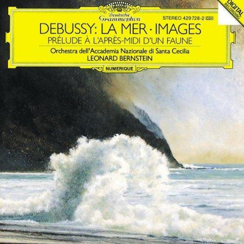 Claude Debussy/Mer/Images/Faun@Bernstein/Santa Cecilia Orch