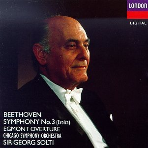 L.V. Beethoven Sym 3 Egmont Ovt Solti Chicago So