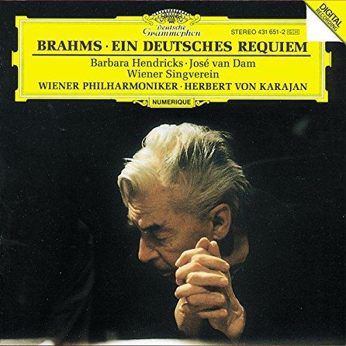 J. Brahms/German Requiem@Van Dam/Hendricks/Scholz@Karajan/Vienna Phil