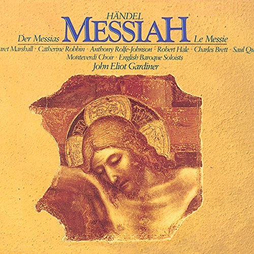 George Frideric Handel Messiah 2 CD Gardiner English Baroque Soloi