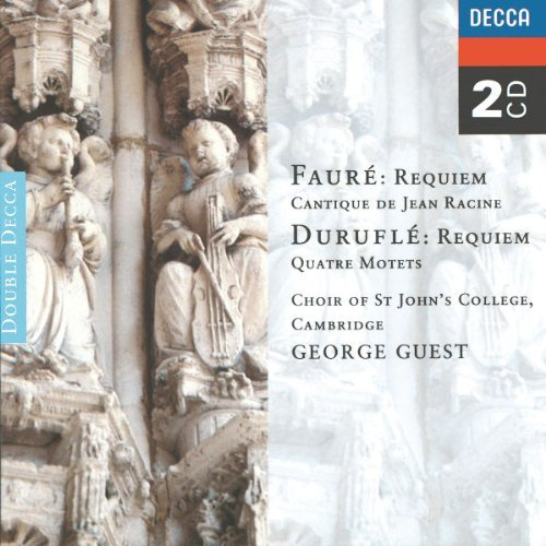 Guest St. John's College Choir Requiem (+ Durufle Requiem) 2 CD Guest St. John's College Cambr