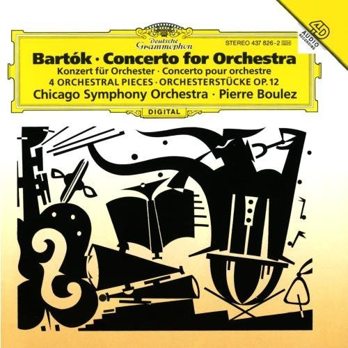 Bartok Concerto For Orchestra 4 Orche Boulez Chicago So