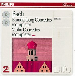 Johann Sebastian Bach/Brandenburg Con 1-3/Con Vn-Com@2 Cd@I Musici