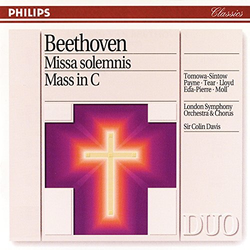 L.V. Beethoven/Missa Solemnis@Tomowa-Sintow/Payne/Tear/Lloyd@Davis/London So & Chorus