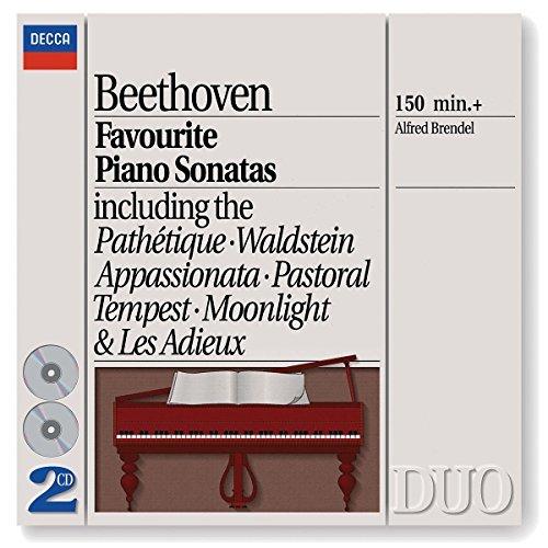 Alfred Brendel/Piano Sonatas 8 14 15 17 21 23@Brendel*alfred (Pno)@2 Cd