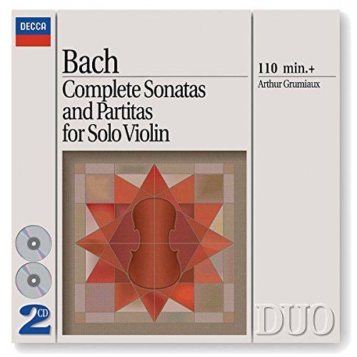 Bach,J.S./Complete Sonatas & Partitas Fo@Grumiaux*arthur (Vn)@2 Cd