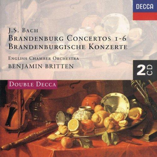 Britten/English Chamber Orch./Brandenburg Concerti 1-6@2 Cd@Britten/Scottish Co