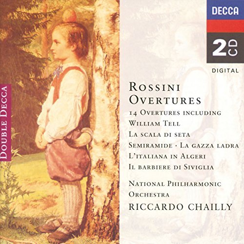 Chailly National Philharmonic 14 Overtures 2 CD Chailly Natl Po
