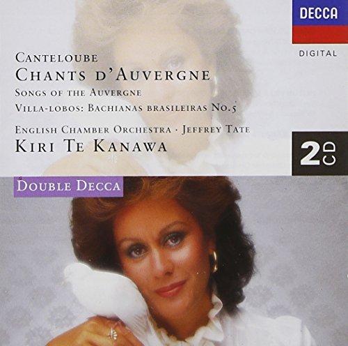 Kiri Te Kanawa/Chants D'Auvergne/(+ Villa-Lob@Te Kanawa*kiri (Sop)@Tate/English Co