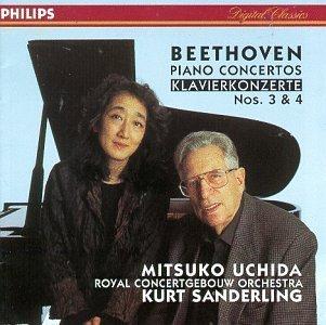 L.V. Beethoven/Con Pno 3/4@Uchida*mitsuko (Pno)@Sanderling/Royal Concertgebouw