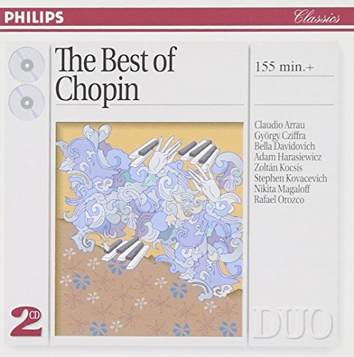 Frédéric Chopin Piano Works Arrau Cziffra Davidovich + 2 CD