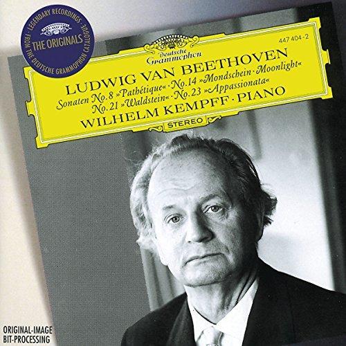 Wilhelm Kempff/Piano Sonatas 8 14 21 23@Kempff*wilhelm (Pno)