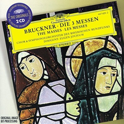 A. Bruckner Mass (3) 2 CD Set Jochum Bavarian Rso